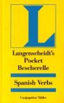 Langenscheidt's Pocket Bescherelle Spanish Verbs - Langenscheidt