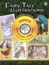 Fairy Tale Illustrations CD-ROM and Book - Carol Belanger Grafton, Carol Belanger-Grafton