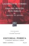 Lazarillo de Tormes. Vida del Buscón Don Pablos. (Sepan Cuantos, #34) - Anonymous, Francisco de Quevedo