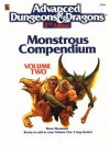 Monstrous Compendium: Volume Two - Mike Breault, Kim Mohan, Bruce Heard