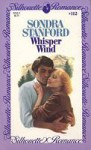 Whisper Wind (silhouette romance, #112) - Sondra Stanford