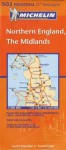 Northern England, the Midlands 502 - Michelin Travel Publications