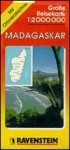 Madagascar: International Road Map/With Separate Index (Ravenstein International Maps) - Ravenstein Verlag