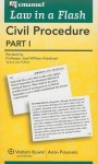 Law in a Flash Civil Procedure I - Lazar Emanuel, Joel Friedman