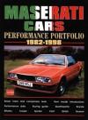 Maserati Cars Performance Portfolio, 1982-1998 (Brooklands Road Test Books Series) - R.M. Clarke