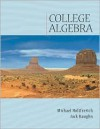 College Algebra (with CD-ROM and Ilrn Tutorial) [With CDROM] - Michael Holtfrerich, Jack Haughn