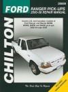 Ford Ranger Pick-Ups Repair Manual - Eric Jorgensen, Alan Ahlstrand