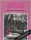 Destinos: Workbook/Study Guide 1 (Lecciones 1-26) - Bill VanPatten, Richard V. Teschner, Martha Alford Marks