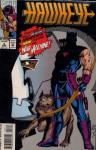 Hawkeye Volume 2 Number 3 March 1994 - Chuck Dixon, Scott Kolins, Tim Dzon, Christie Scheele
