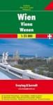Wien: Freytag & Berndt Gesamtplan 1:25 000 Mit Vollstandigem Strassenverzeichnis, Wien-Innenstadt Mit Sehenswurdigkeiten, Ve - Freytag