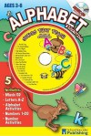 Alphabet and Counting Sing Along Activity Book with CD: Songs That Teach Alpabet (Sing Along Activity Books) - Kim Mitzo Thompson