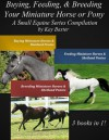 Buying, Feeding & Breeding Your Miniature Horse or Pony (Small Equine Series Compilation) - Kay Baxter