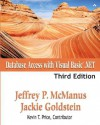 Database Access with Visual Basic .Net - Jeffrey P. McManus, Jackie Goldstein