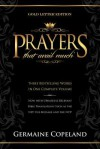Prayers That Avail Much Gold Letter Gift Edition - Germaine Copeland