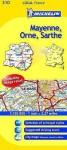 Michelin Map France: Mayenne, Orne, Sarthe 310 - Michelin Travel Publications