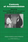 Contexts of Accommodation: Developments in Applied Sociolinguistics - Howard Giles