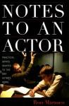 Notes to an Actor - Ron Marasco