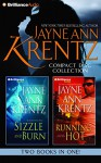 Jayne Ann Krentz CD Collection 4: Sizzle and Burn, Running Hot (Arcane Society Series) - Jayne Ann Krentz, Sandra Burr