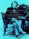 Piano Concerto No. 1 In D Minor: The Composer's Original Arrangement for Piano Four Hands - Johannes Brahms
