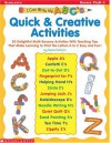 I Can Write My ABC's! Quick & Creative Activities: 50 Delightful Multi-Sensory Activities with Teaching Tips That Make Learning to Print the Letters A to Z Easy and Fun! - Kama Einhorn