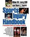 Sports Injury Handbook: Professional Advice for Amateur Athletes - Allan M. Levy, Mark L. Fuerst
