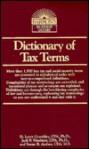 Dictionary of Tax Terms - D. Larry Crumbley, Jack P. Friedman