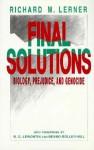 Final Solutions: Biology, Prejudice - Richard M. Lerner