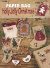 Paper Bag Holly Jolly Christmas - Susan Cousineau