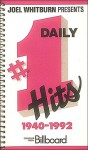 Daily #1 Hits 1940-1992 - Joel Whitburn