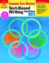 Text-Based Writing: Nonfiction: Common Core Mastery, Grade 2 - Evan-Moor Educational Publishers