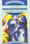 Podróże Guliwera : podróże do wielu odległych narodów świata w czterech częściach przez Lemuela Guliwera, początkowo lekarza okrętowego a następnie kapitana licznych okrętów - Jonathan Swift
