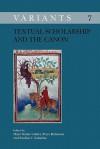 Textual Scholarship and the Canon. - Hans Walter Gabler, Paulius V. Subacius, Peter Robinson