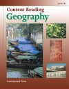 Geography Workbook: Content Reading: Geography, Level G - 7th Grade - continental press