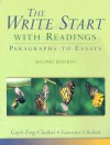 The Write Start with Readings: Paragraphs to Essays - Gayle Feng-Checkett, Lawrence Checkett