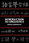 Introduction to Linguistics - Ronald Wardhaugh