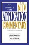 NIVAC Bundle 6: Gospels, Acts (The NIV Application Commentary) - Michael J. Wilkins, David E. Garland , Darrell L. Bock, Gary M. Burge, Ajith Fernando