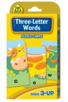Three-Letter Words Flash Cards - School Zone Publishing Company