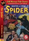 Spider #14 November 1934 (The Spider) - RadioArchives.com, Grant Stockbridge, Will Murray