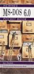 Newnes MS-DOS 6.0 Pocket Book - Ian Robertson Sinclair
