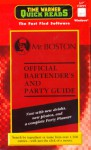 Mr. Boston Official Bartender's and Party Guide - Time Warner Electronic Publishing