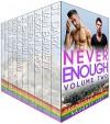 Never Enough: Volume Two: Gay Erotica Collection - J.T. Dark, Van Barrett, Adrian Amos, Stephen Hoppa, J.T. Samhain, Jacinta Laurenti, Randy Manners, Chera Zade, Rod Mandelli, F.J. Smith