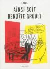 Ainsi soit Benoîte Groult - Catel