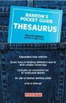 Barron's Pocket Guide Thesaurus - Arthur H. Bell