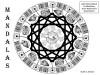 Mandalas: Adult Coloring Book for Meditation, Stress Reduction & Beautification - M.D. Johnson