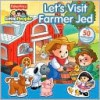 Let's Visit Farmer Jed (Sticker Book) - Carol Monica