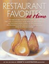 "Restaurant Favorites at Home: Part of ""The Best Recipe"" Series - Cook's Illustrated"