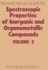 Spectroscopic Properties of Inorganic and Organometallic Compounds - Royal Society of Chemistry, Royal Society of Chemistry