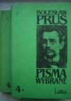 Pisma wybrane. T.4. Lalka - Bolesław Prus