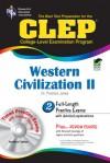 CLEP Western Civilization II w/ TestWare CD - Preston Jones, Jonathan Zophy