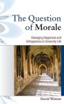 The Question of Morale - David Watson
